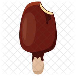 Chocolate Popsicle Icon