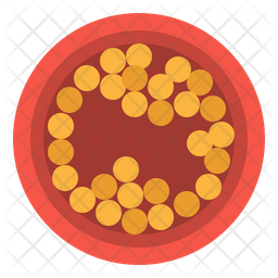 Cholesterol cell Icon