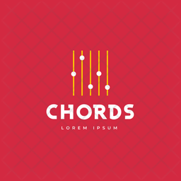 Chords Logo Colored Outline Icon