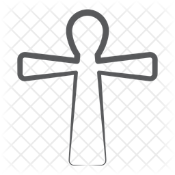 Christinaty Cross Icon Of Doodle Style Available In Svg Png Eps Ai Icon Fonts