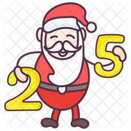 Christma Date Icon