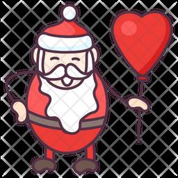 Christmas Balloon Icon