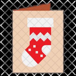 Christmas Card Flat Icon