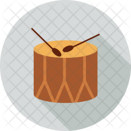 Christmas Drum Icon