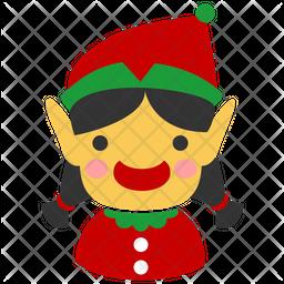 Christmas elf Icon