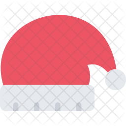Christmas, Hat, New, Year, Winter, Holidays Icon