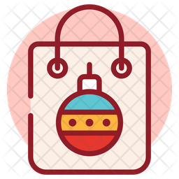Christmas Shopping Icon Of Flat Style Available In Svg Png Eps Ai Icon Fonts