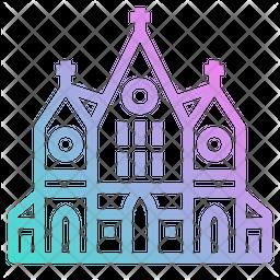 Church Gradient Icon