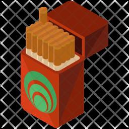 Cigarettes box Icon