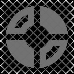 Circular Glyph Icon