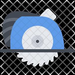 Circular, Saw, Builder, Building, Construction, Repair Icon