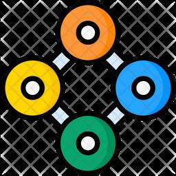 Circulation Chart Icon