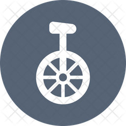 Circus Unicycle Icon