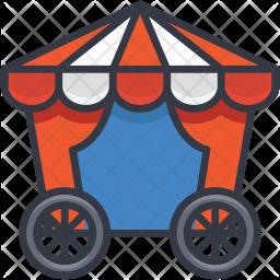Circus Wagon Icon