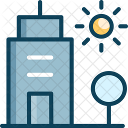 City Icon Of Colored Outline Style Available In Svg Png Eps Ai Icon Fonts