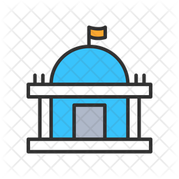 City Government Icon Of Colored Outline Style Available In Svg Png Eps Ai Icon Fonts