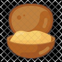 Clam Flat Icon