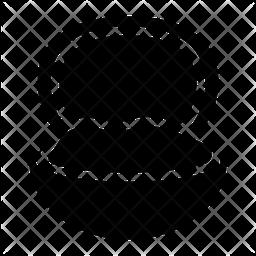 Clam Glyph Icon