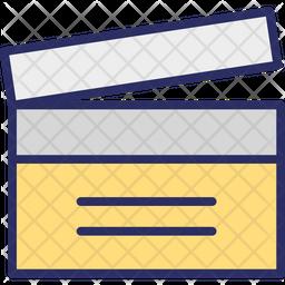 Clap-board Icon