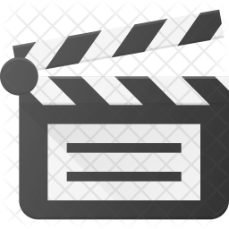 Clapper Flat Icon