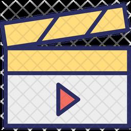 Clapper-board Icon