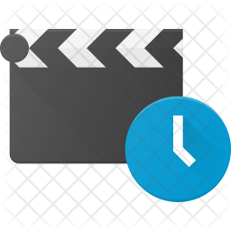 Clapper timer Flat Icon