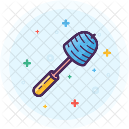Clean, Brush, Bathroom, Toilet, Toiletries Icon