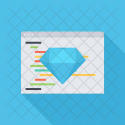 Clean, Code, Seo, Business, Startup, Marketing, Optimization Icon
