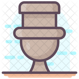 Clean Commode Icon
