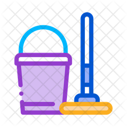 Cleaning Mop Icon