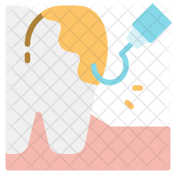 Cleaning teeth Icon