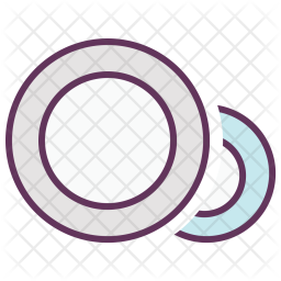 Cleaning, Utensils, Eating, Dish, Dishes, Plates Icon