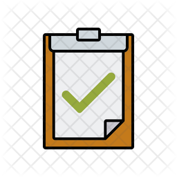 Clipboard Approval Icon