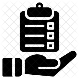 Clipboard Glyph Icon