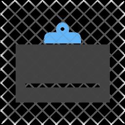 Clipboard Flat Icon