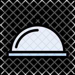 Cloche Colored Outline Icon