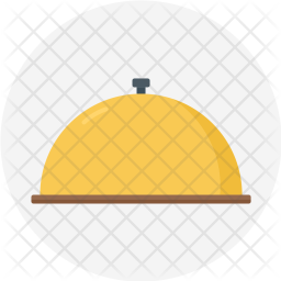 Cloche, Covering, Hot, Food, Serve, Tray Icon
