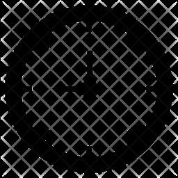Clock Glyph Icon