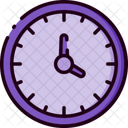 Clock Icon Of Colored Outline Style Available In Svg Png Eps Ai Icon Fonts