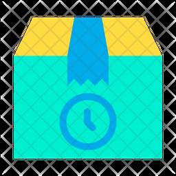 Clock Delivery Icon