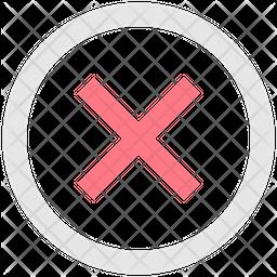 Close Line Icon