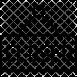 Closed board Icon