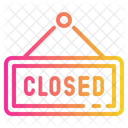 Closed Hanging Board Icon