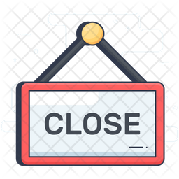 Closed Label Icon