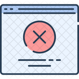 Closed Website Icon
