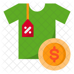 Clothe Price Icon