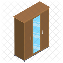 Clothing Cupboard Icon