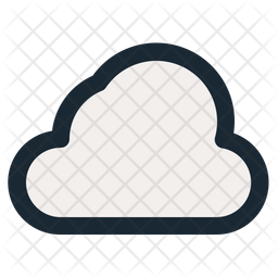 Cloud Icon Of Colored Outline Style Available In Svg Png Eps Ai Icon Fonts