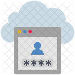 Cloud Account Security Icon