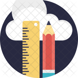 Cloud-Based CAD Software Icon